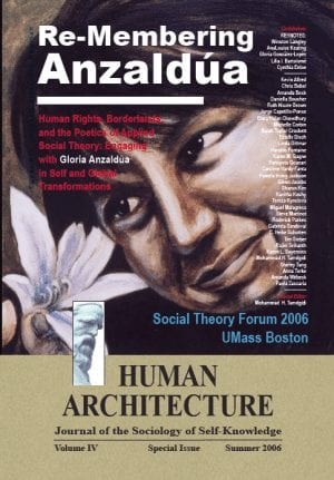 Re-Membering Anzaldúa: Human Rights, Borderlands, and the Poetics of Applied Social Theory: Engaging with Gloria Anzaldua in Self and Global Transformations Proceedings of the Third Annual Social Theory Forum—April 5-6, 2006, UMass Boston HUMAN ARCHITECTURE Journal of the Sociology of Self-Knowledge Volume IV • Special Issue • Summer 2006, Journal Editor: Mohammad H. Tamdgidi, UMass Boston